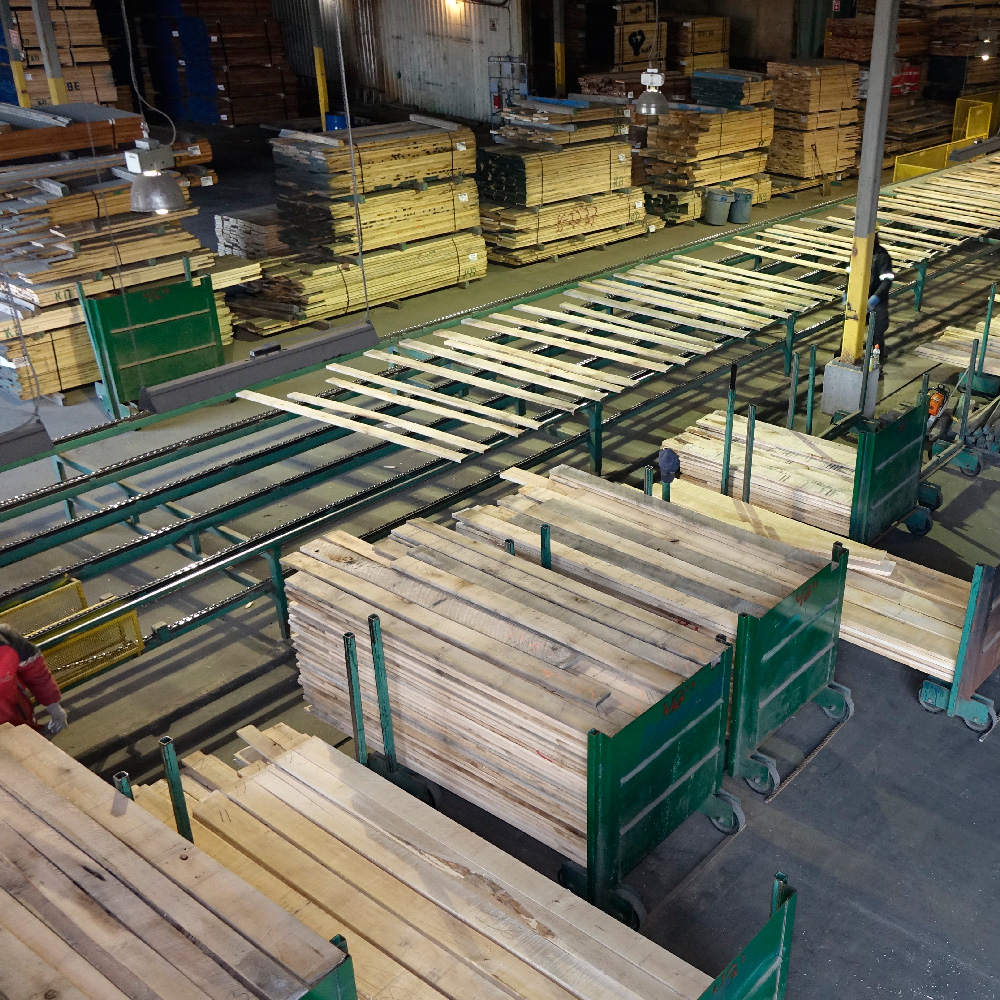 Séchoir à bois franc - M.E.S. produits forestier